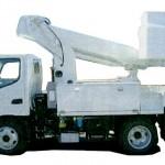 高所作業車(トラック搭載型) 特徴や必要資格や免許