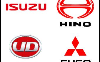 国産トラックメーカー ロゴ