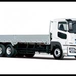 10tトラックの最大積載量と寸法一覧/三菱ふそう「スーパーグレートV」編(平ボディのサイズ)