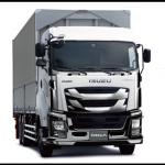 10tトラックのバン型(箱型)荷台寸法一覧/いすゞ「ギガ」編(完成車・車軸別サイズ)