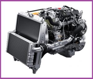 4P10 6T エンジン(キャンター)